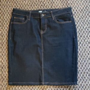 a68bfd897b4 Women Old Navy Blue Jean Skirts on Poshmark